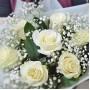 Букет Зимняя песня из 7 роз